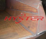 High Abrasion and Impact Hardfaced Overlay Wear Plate