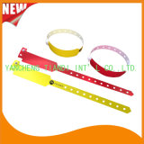 Professional Entertainment Custom Made Disposable Plastic ID Wristbands Bracelet (E8020-54)