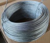 Stainless Steel Thin Wire Rope 7X7, Diameter 0.8mm