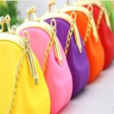Portable Silicone Cosmetic Pouch with Chains