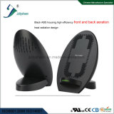 Newest Model Best Hot-Selling Smart Fast Wireless Charger Built-in Small Fan, High Efficiency Heat-Radiation, Patent Design Nice Appearance.