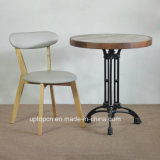 Wholesale Wood Restaurant Cafe Table and Chair Set (SP-CT743)
