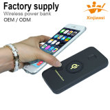 Factory Supply 6, 000mAh Wireless Power Bank Portable Power Bank
