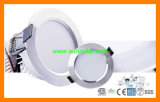 Embedded Ultra Thin Round 5W LED Panel LED Downlight