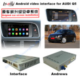 HD All-Purpose Car GPS Upgrading Interface Navigation Box for Q5 (LLT-Audi-VER4.5.1) , Touch