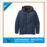 Warm Blue Sport Hood Paded Jacket for Men