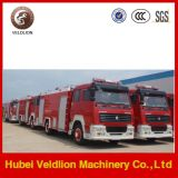 HOWO Fire Fighting Vehicle with Water Tanker 8000 L