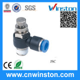 Plastic One-Touch Tube Pneumatic Fittings with CE
