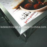 LED Light Box Signs Aluminum Snap Frame Display