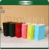 Colorful Kraft Paper Cloth Shopping Bag