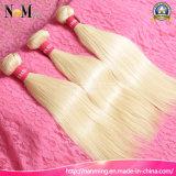 Bleach Blonde Brazilian Hair Human Virgin Hair Extensions 8A Brazilian Straight Hair Color 613 Blonde Virgin Hair