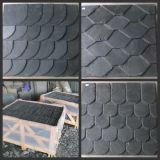 Chinese Natural Black Roof Slate Tiles for Exterior