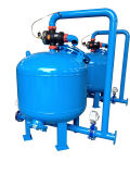 Industrial Recycling Silica Sand Filter Water Filtration System