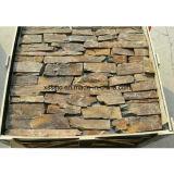 Natural Slate Rusty Irregular Wall Stone for House