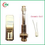 Gold Color Ceramic Glass Cartridge Cbd Vape Pen Atomizer