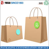 Brown Cardboard Paper Shopping Bsg with Twisted Handle