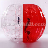 Half Color Inflatable Knocker Ball, Soccer Bubble Ball D5019