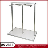 Stainless Steel Gondola Shelf for Retail Clothing Store