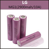 Authentic LG Mg1 (2900mAh/10A) 18650 Rechargeable Batteries for E Cig