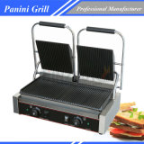 Electric Sandwich Double Grooved Grill Chz-810-2