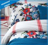 Cotton Printed Floral Piece Bedding Comforter Set