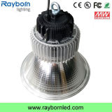High Lumens 120lm/W Round 100W LED Highbay Light for Warehouse