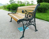 Various Park Benchs & Garden Chairs Made of Cast Iron Leg