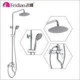 Modern Design Hot Sale Single Handle Rain Shower Column (with spout)