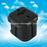 Universal USB 8A 250V Power Socket Travel Adapter