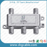 5-1000MHz 4 Way Indoor CATV Splitter (SPDR-4W)
