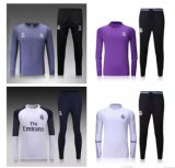 2017-18 Season New Soccer and Football Training Tracksuit Kits with Custom Made Name and No. Free Shipping