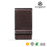 Colorful Carbon Fiber Money Clip Card Holder