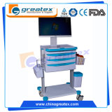 Commercial Furniture Wireless Nursing Trolley Medical Equipment Carts (GT-QNT6202)
