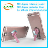 Transparent Case with 360 Degrees Rotating Holder for iPhone 6s/7