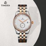 Customized Logo Stainless Steel Quartz Watch Luxury Men Watch 72195