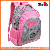 High Quality Durable Flower Embosss School Backpack School Bags