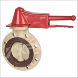 Chinese Factory, Pph Lever Handle Butterfly Valve, Plastic Butterfly Valve