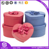 Heart Shape Paper Box Packaging Apple Christmas Gift