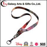 Colorful Dye Sublimation Fabric Fashion Key Neck Strap