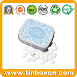 Rectangular Mint Tin Box, Metal Candy Can, Gum Tin Can