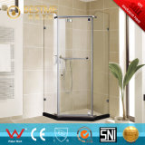 Frameless Bathroom Diamond Shape Stainless Steel Shower Room (BL-Z3502)
