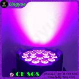 Stage Disco Light PAR 64 LED 18X18W 6in1 RGBWA UV LED PAR