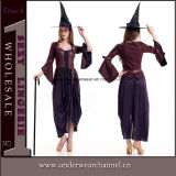 Adult Fancy Carnival Girls Halloween Party Witch Sexy Dress Costume (TLZQ6511)