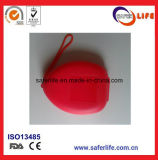 Emergency Disposable CPR Mask Air Cushion CPR Mask One Way Valve Face Shield Mouth to Mouth Breathing Hard Case Ambulance