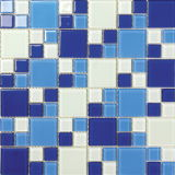 Interior Decorate Crystal Glass Mosaic (VMG4302, 300X300mm)