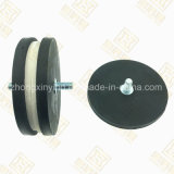 Magnetic Base, M6 Thread Magnetic Chuck with Rubber Coating