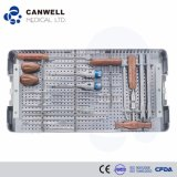 Medical Surgical Instruments Set for Spinal Fixation System Orthopedic Implants