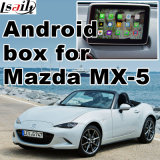 Android GPS Navigation System Box for Mazda Mx-5 Video Interface Upgrade Touch Navigation Mirrorlink
