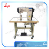 Single Needle Post Bed Direct Driver Lockstitch Industrial Shoe Leather Sewing Machine