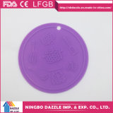 Round Anti Slip Kitchen Silicone Dish Drying Mat